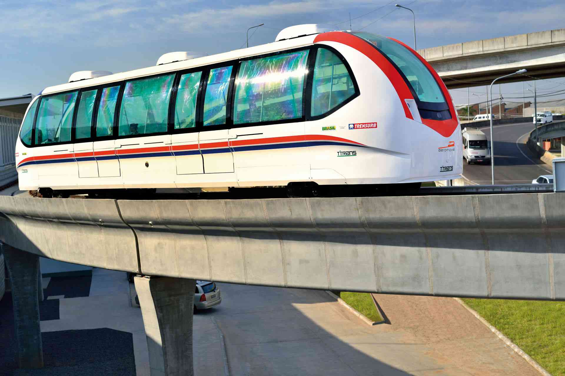 Aeromovel Atmospheric Railway