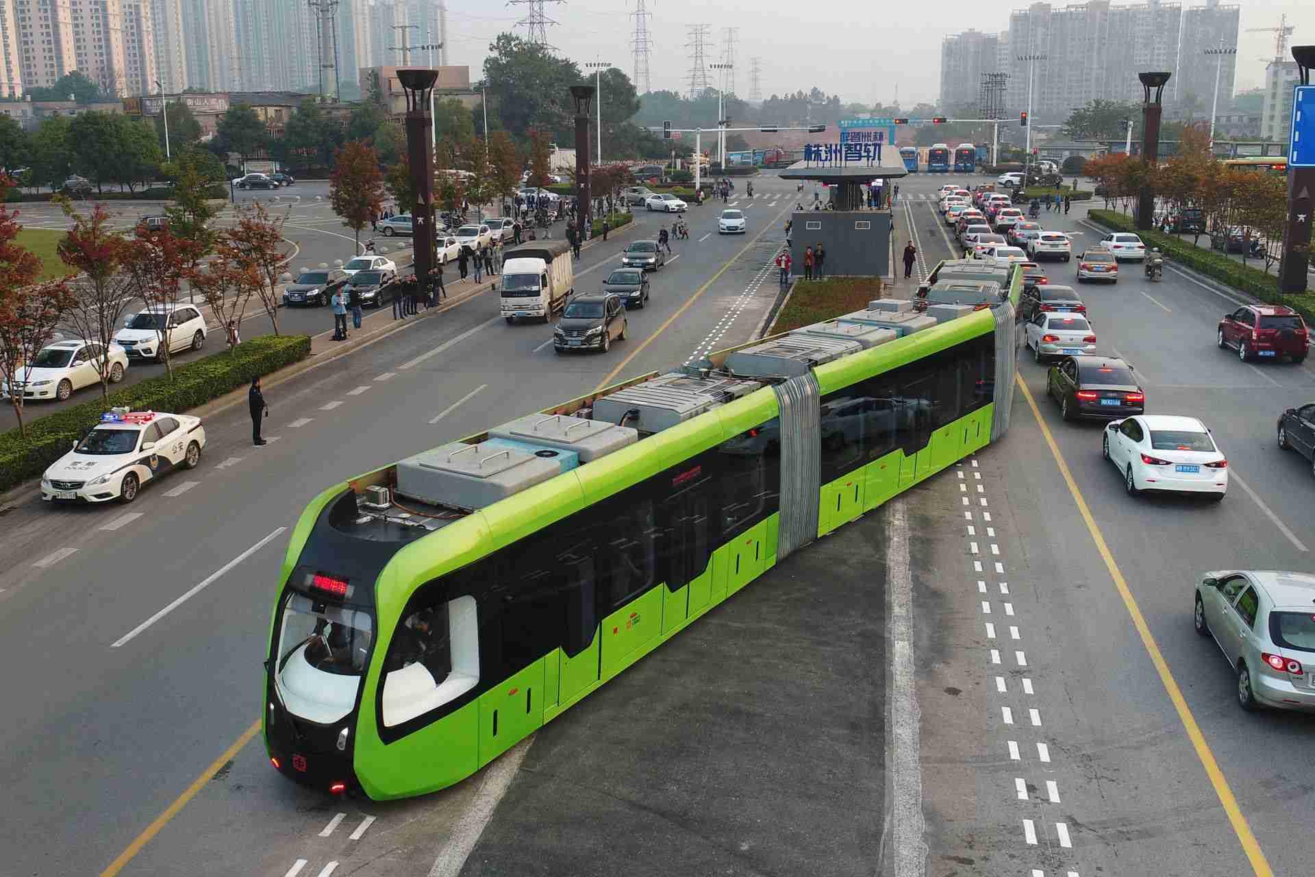 Bus-Tram Autonomous Rail Rapid Transit ART