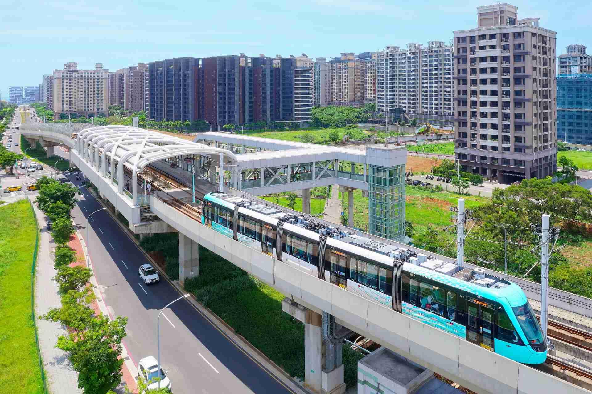 Danhai Light Rail Transit (LRT)