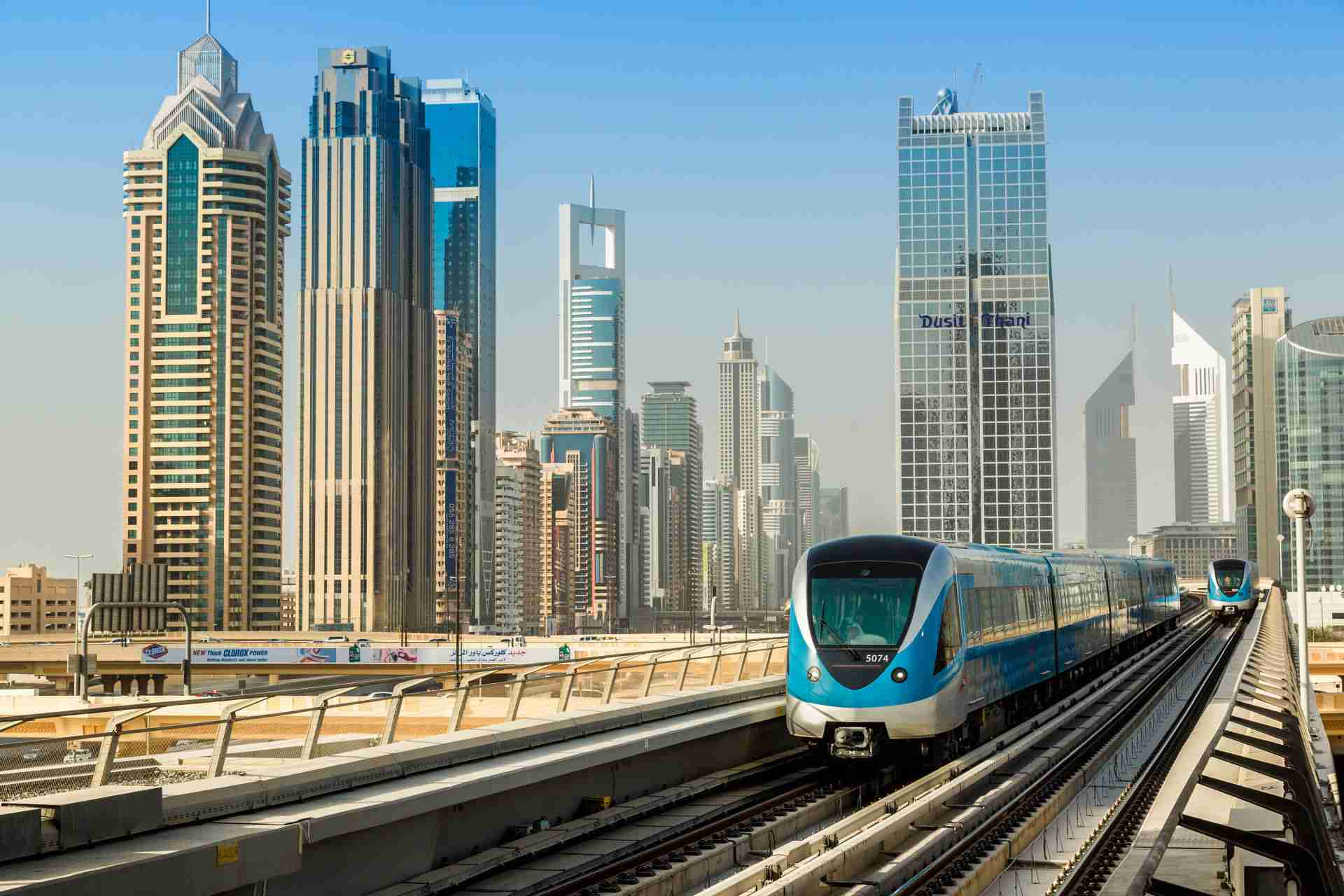 Dubai Metro Transport System