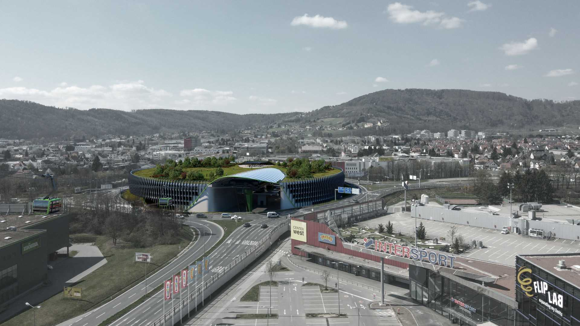 Graz-Webling Cable Car