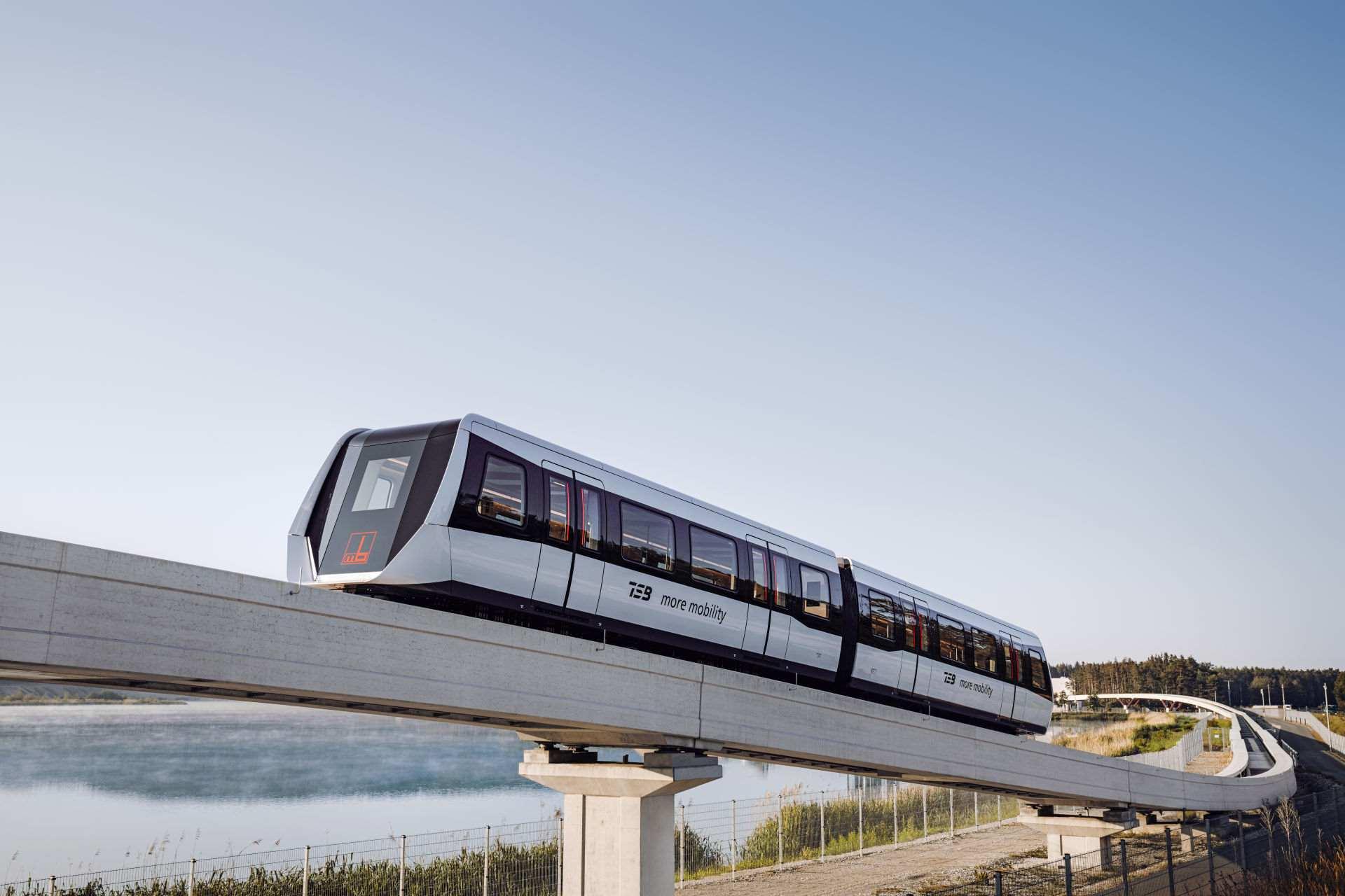 TSB Maglev Max Bögl Transport System