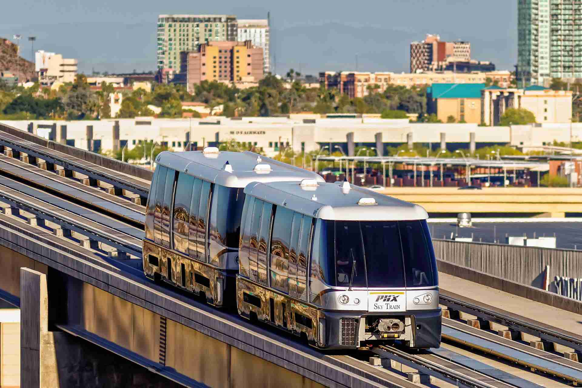 Phoenix Sky Train Automated People Mover APM
