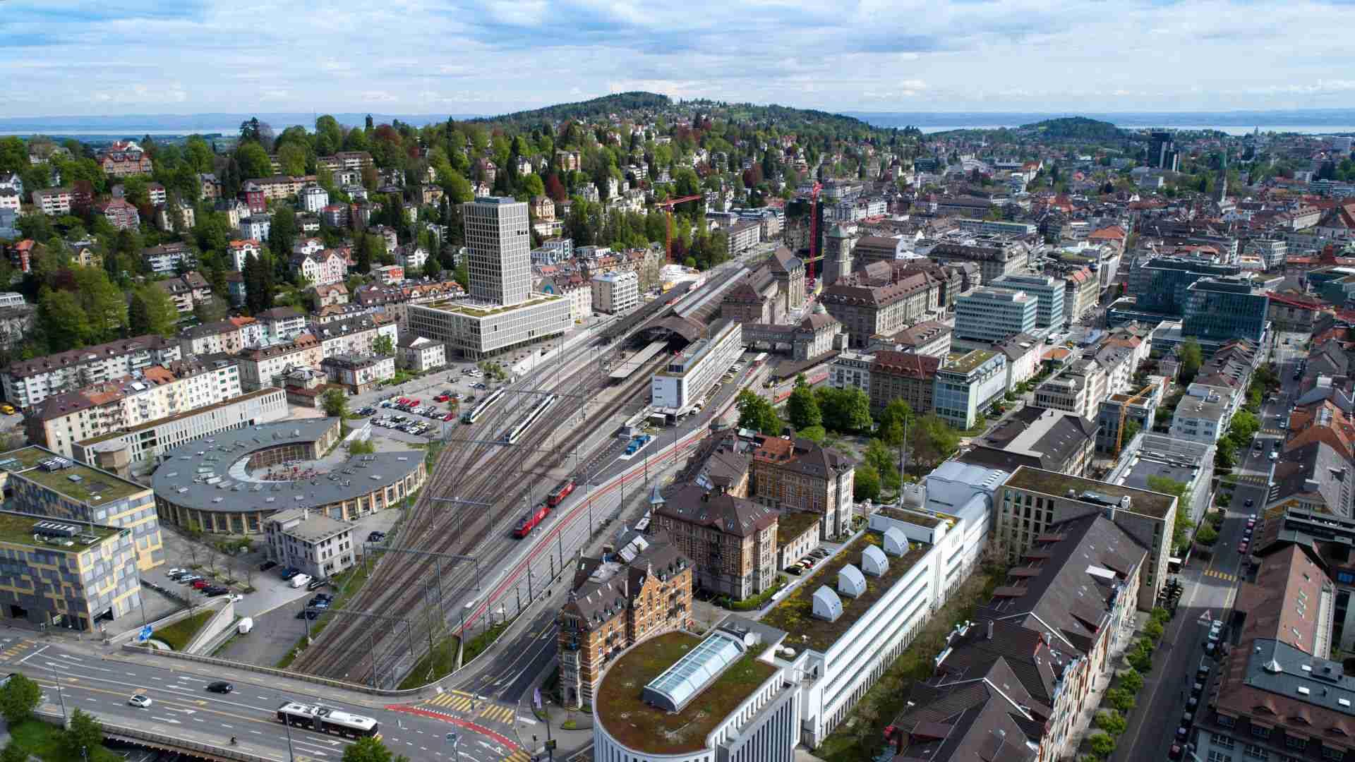 Stadtseilbahn St. Gallen