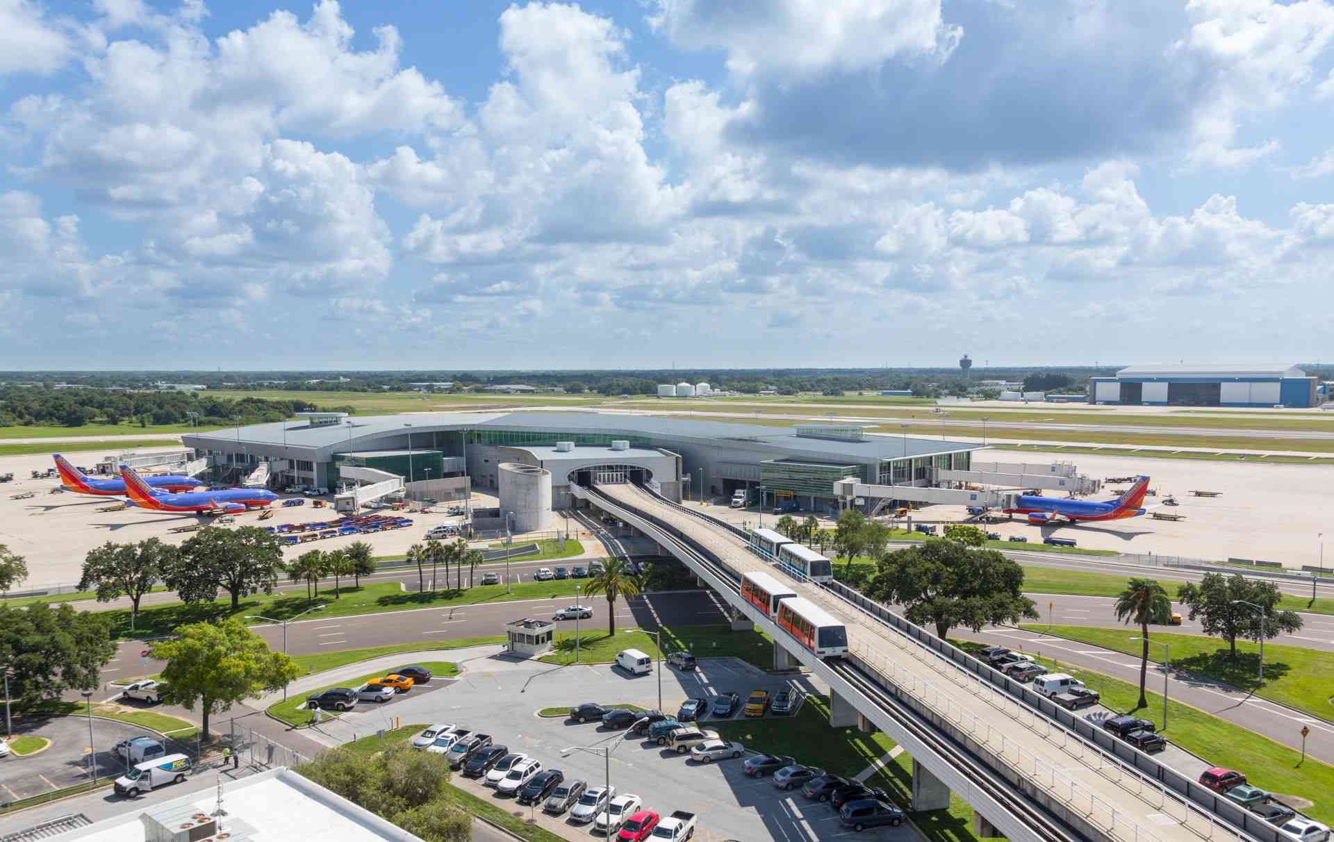 Tampa Flughafen Automated People Mover (APM)