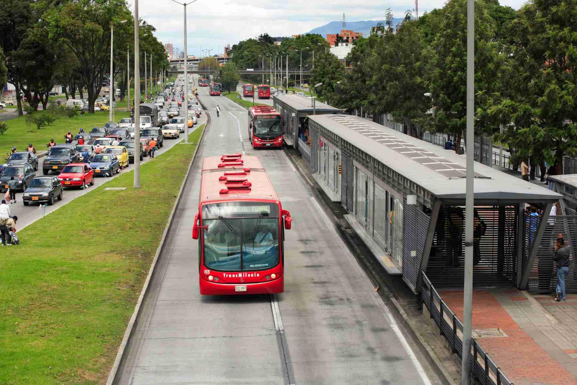 Transmilenio Bus Rapid Transit BRT