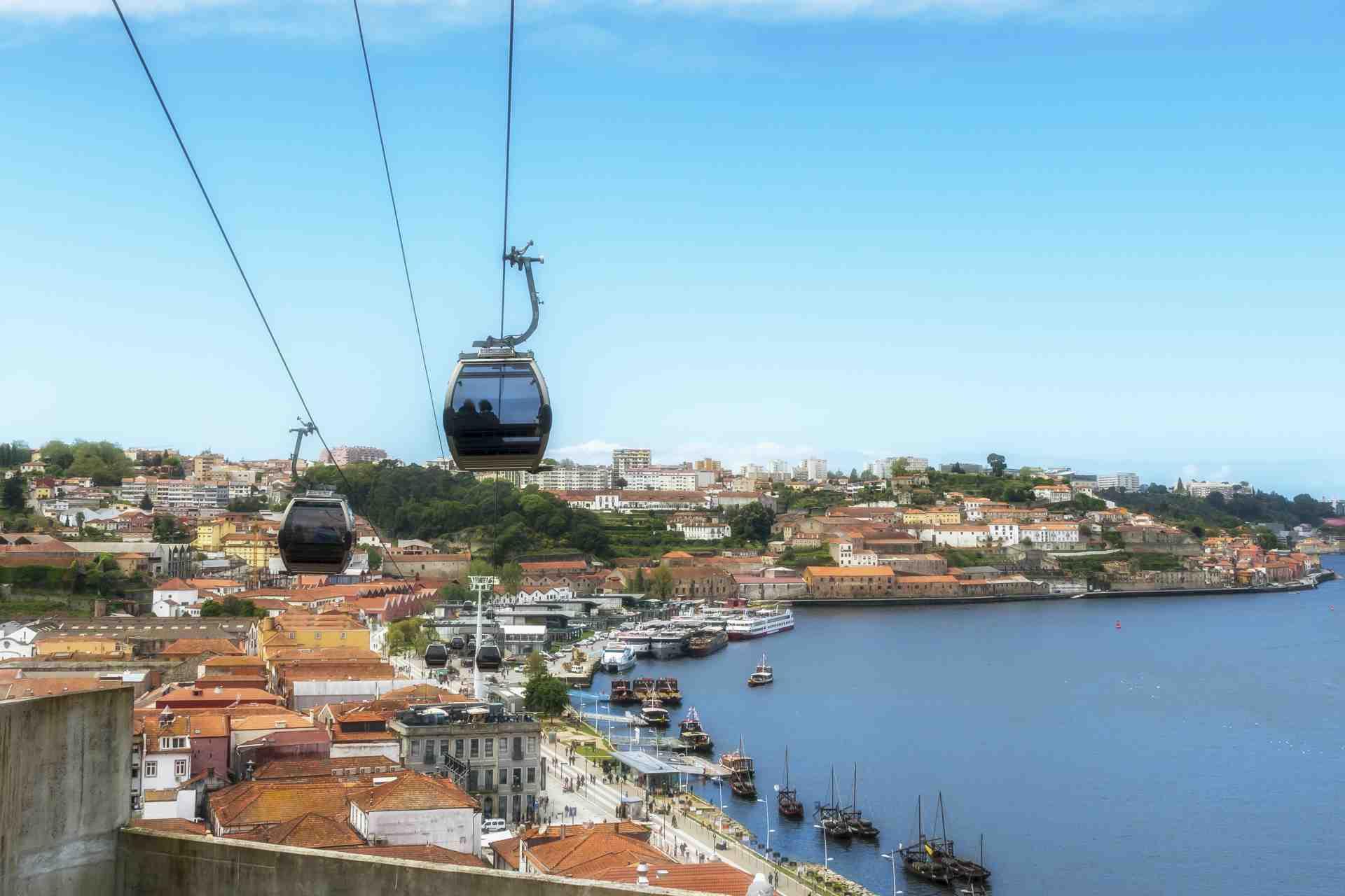 Urban Cable Car in Porto