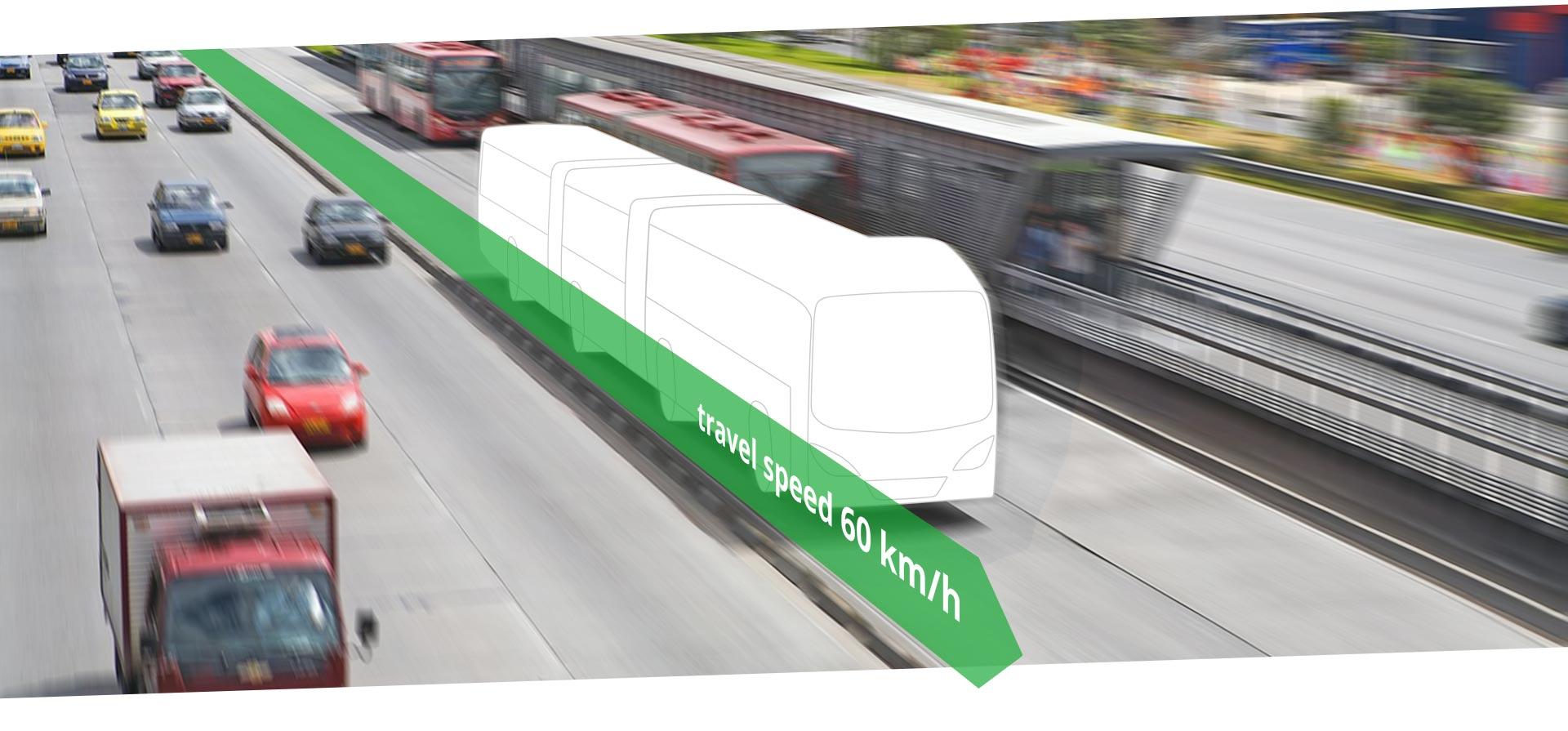 BRT Bus Rapid Transit Bogota