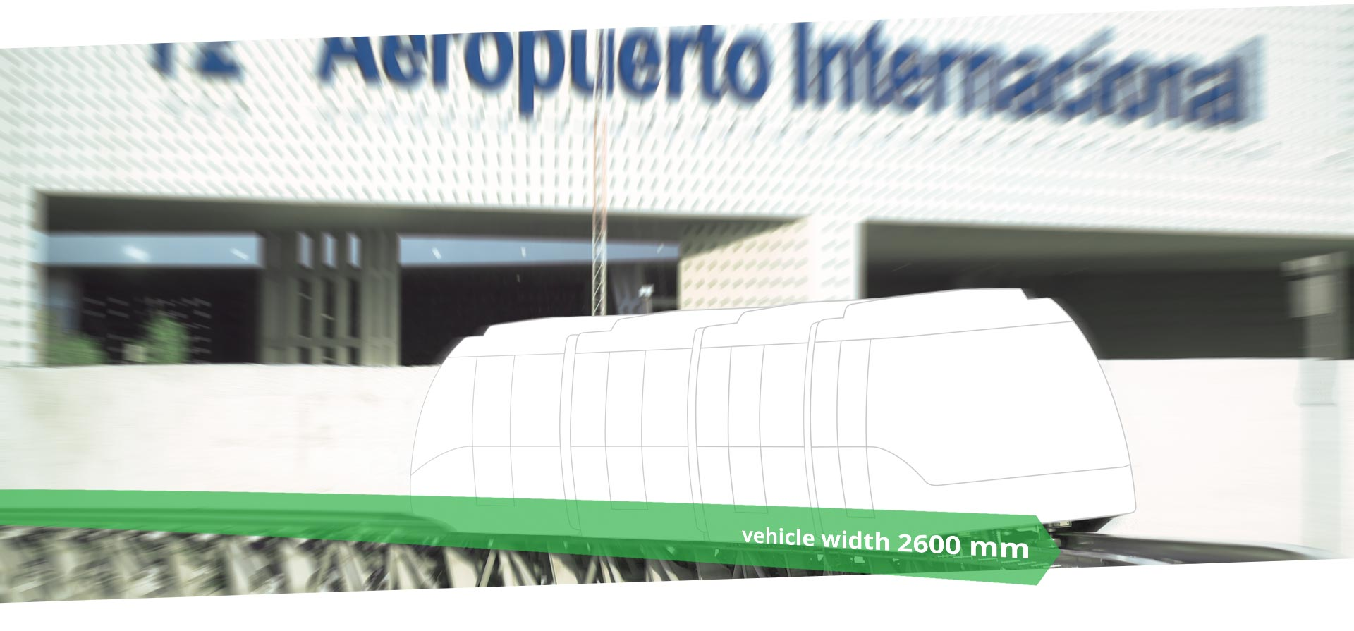 Mexiko City Flughafen Cable Liner APM